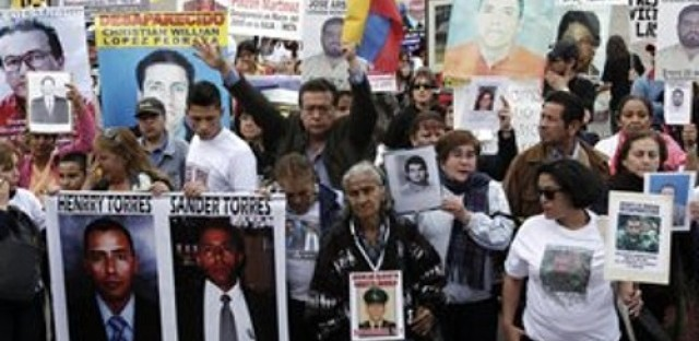 Seeking justice for Colombia's disappeared