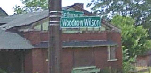 When Western Avenue was Woodrow Wilson Road
