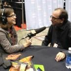 WBEZ's Logan Jaffe interviews novelist R.L. Stine at Chicago's Comics and Entertainment Expo.