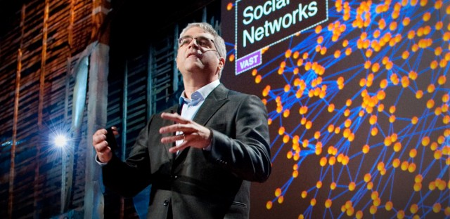 Nicholas Christakis at speaking at TED in 2010.