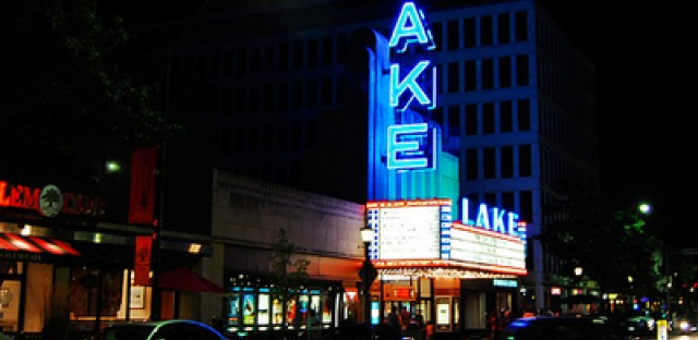 oak park s historic lake movie theater celebrates 75th birthday wbez. Black Bedroom Furniture Sets. Home Design Ideas