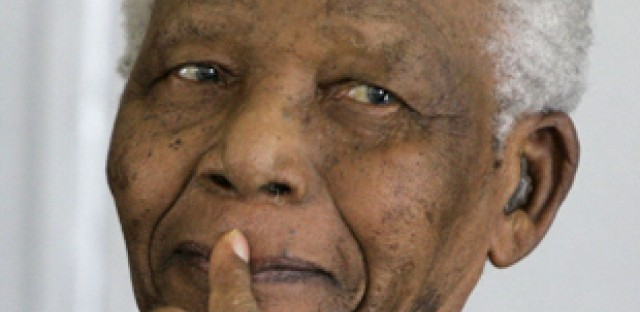 For Nelson Mandela, ubuntu leadership is all about service to others.