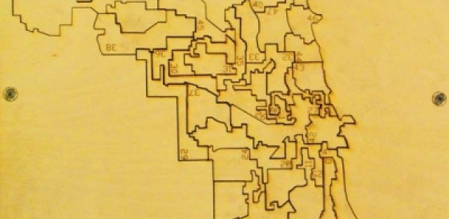 WBEZ inspires architecture student to create ward map puzzle