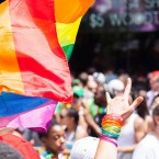Same sex marriage decision takes center stage at Pride Parade