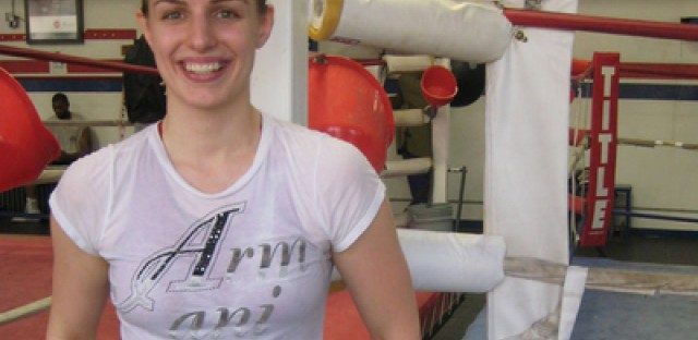 Female boxer aims for the 2012 Olympics
