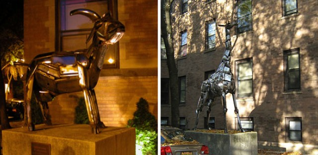 Missing in Lakeview: One goat, two giraffes