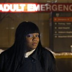 In this portrait taken Wednesday, Feb. 27, 2013, in Chicago, Veronica Morris-Moore stands outside the adult emergency room at the University of Chicago Medical Center. Morris-Moore is one of many activists with one goal, to pressure the medical center into reopening an adult trauma center it closed 25 years ago. With increasing gun violence on the city's South Side, they believe victims shouldn't have to travel 25 to 30 minutes to reach top-level trauma care.