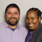Chad Hendry came to StoryCorps with his colleague Hana Anderson.