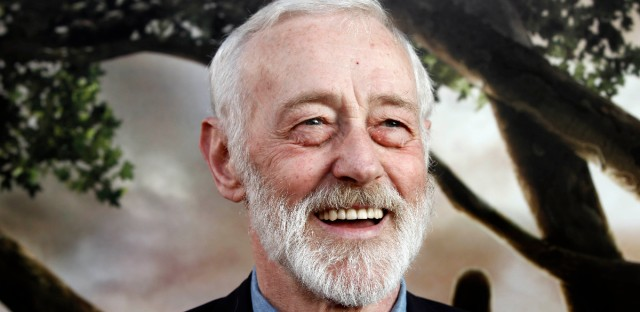 """Cast member John Mahoney arrives at the premiere of """"Flipped"""" in Los Angeles, Monday, July 26, 2010."""