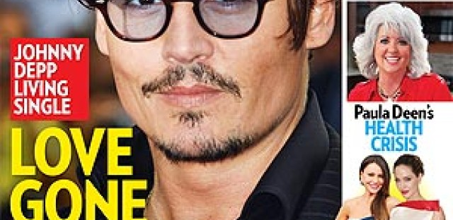 Johnny Depp and his partner Vanessa Paradis announced they were splitting up last week.