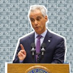 Mayor Rahm Emanuel Budget Illustration