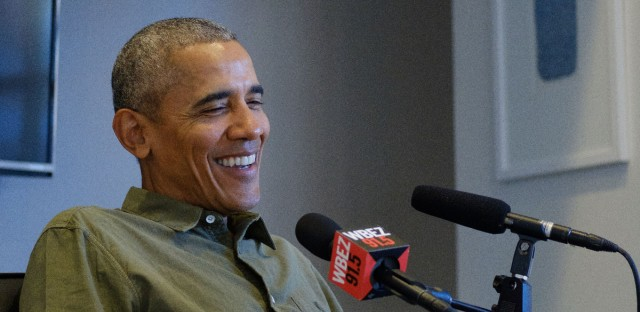 Former President Barack Obama sat down for an interview with WBEZ's Jenn White for Making Obama in his Washington D.C. offices.
