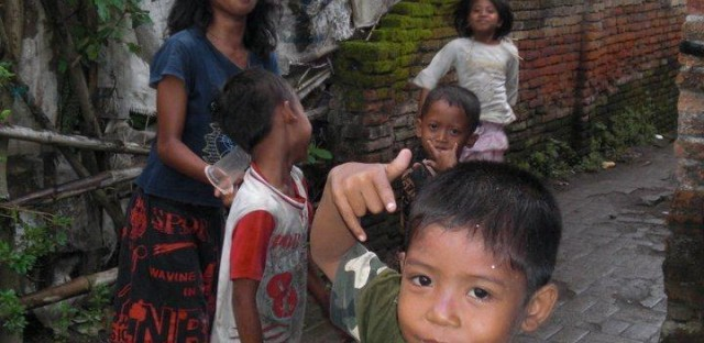 Children at the Al-Ashriyah school and orphanage in the village of Lombok, Indonesia.