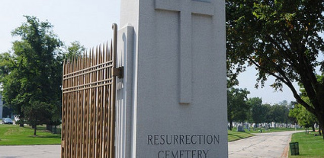 Resurrection Cemetery is the resting place of Resurrection Mary, Chicago's most legitimate ghost story.
