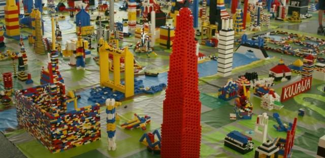 IIT's Lego city.
