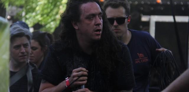 Trash Talk singer Lee Spielman