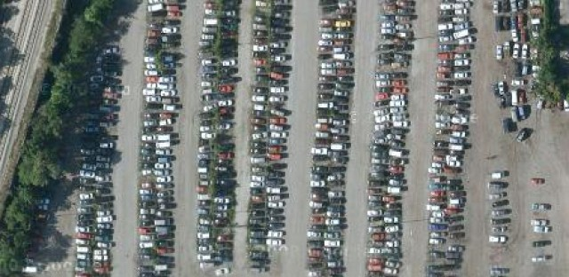 Chicago Police impound lot. (Image from Google Maps)