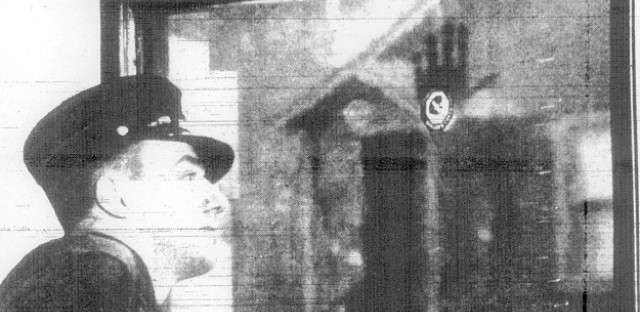 The ghostly handprint in 1939