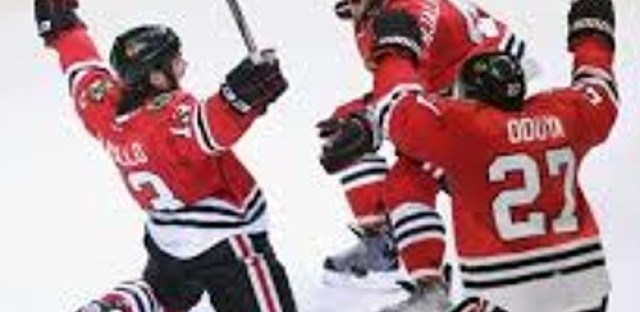 Hawks win the Stanley Cup