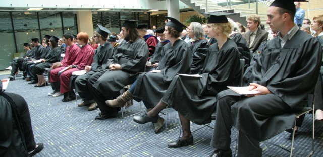 Shimer College Graduation