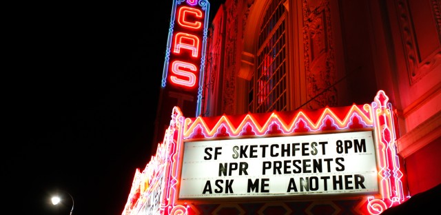 Ask Me Another : Sketchfest 2016: Phil Johnston, Steve Sansweet And Mo Willems Image