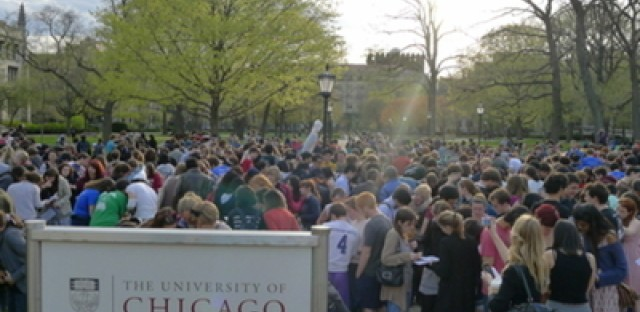 In its 25th year, University of Chicago Scavenger Hunt breaks a world record