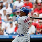 New York Mets' Curtis Granderson in action during a baseball game against the Philadelphia Phillies, Sunday, July 17, 2016, in Philadelphia.