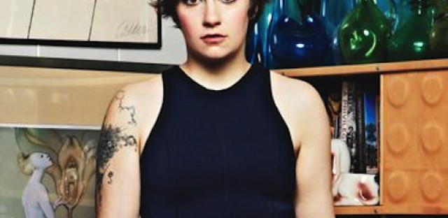 Lena Dunham, writer/director/star of the hit HBO show 'Girls.'