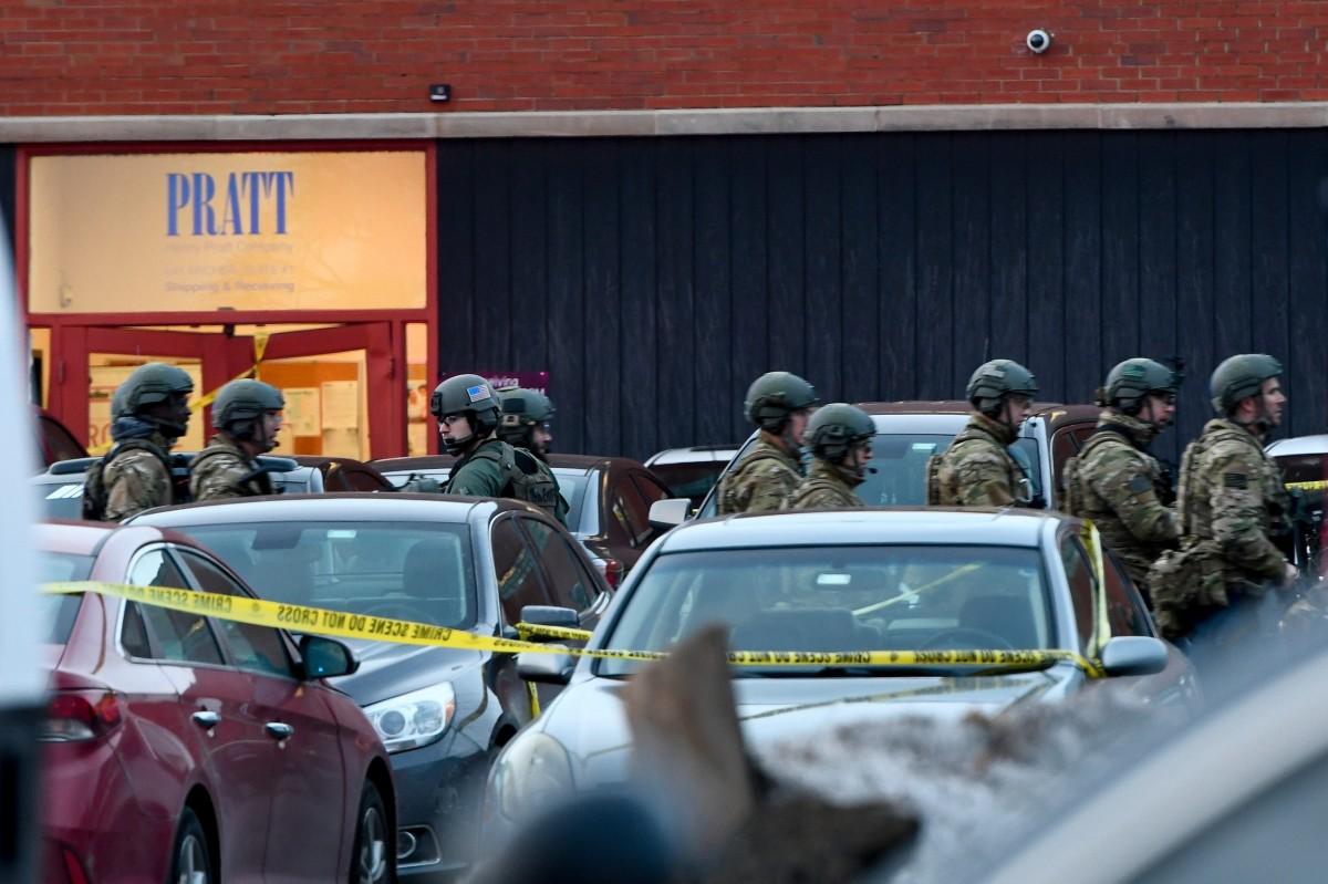 Cops at Henry Pratt