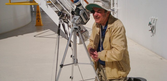 Donald Liebenberg, a Clemson University adjunct professor and astronomer, has spent more time in totality, which is when the moon completely blocks the sun, than anyone else on Earth.