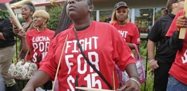 McDonald's workers tour globe for minimum wage raise