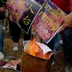 Hong Kong Trump Protest