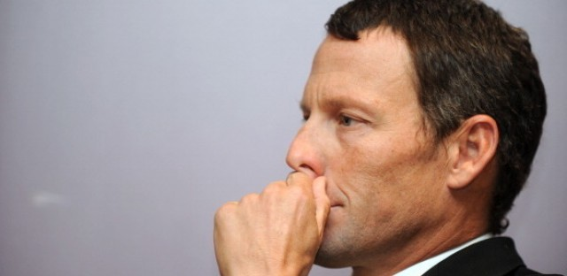 1A : Lance Armstrong Returns To Cycling — As A Superfan Image