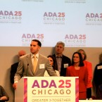 Steve Pemberton, Division Vice-President and Chief Diversity Officer, Walgreens, speaking at the ADA 25 Chicago Launch Event: Greater > Together