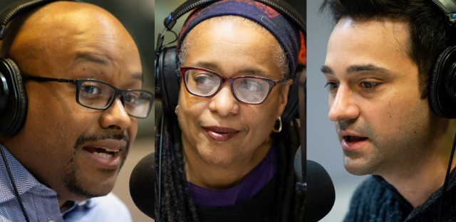 WGN's Tahman Bradley, NPR's Cheryl Corley and Paris Schutz of WTTW join this week's Friday News Roundup.
