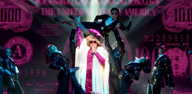 Da'Vine Joy Randolph performs in a scene from 'Ghost The Musical' at the Lunt-Fontanne Theatre in New York. Randolph, who plays a sassy psychic, earned a Tony Award nomination for her Broadway debut.