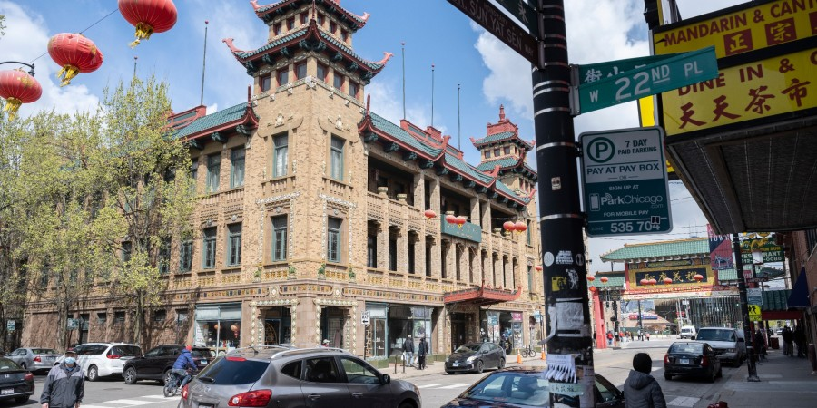 The Pui Tak Center in Chicago's Chinatown