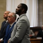 R. Kelly is seen in Cook County criminal court, in the Leighton Criminal Courthouse in Chicago, on June 6, 2019.