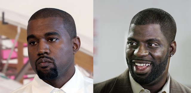"Donda's House, which was created in 2011 by rap mogul Kanye West (right) and Che ""Rhymefest"" Smith (right) and named after West's mother, will now be known as Art of Culture, Inc., the nonprofit's director said."