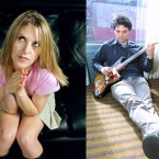 From left, Billy Corgan of the Smashing Pumpkins, Liz Phair and Jeff Tweedy of Wilco.