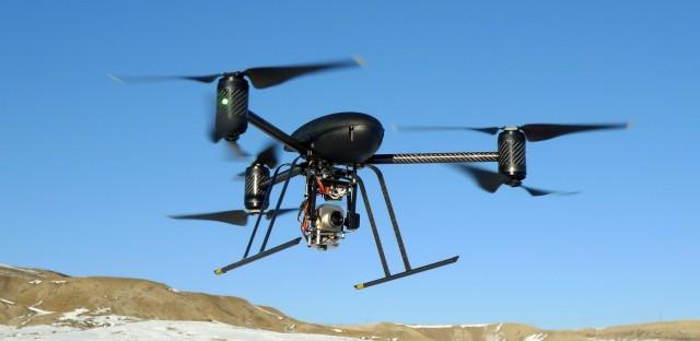 Drone fight over Illinois
