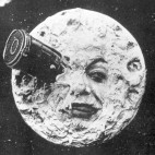 Georges Méliès' 1902 film, A Trip to the Moon, was the first motion picture to visit the moon — and one of the first films with a plot.