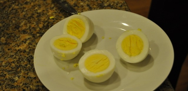 Making the perfect hard-boiled egg