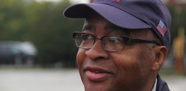 Bernard Turner, a director of the Camp Douglas Restoration Foundation.
