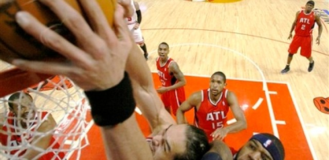 AP photography excels 'above the rim' at United Center