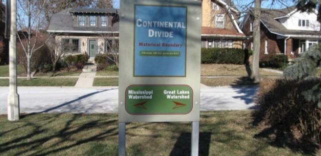 Oak Park's Continental Divide