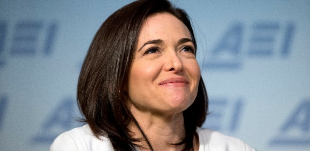Facebook Chief Operating Officer Sheryl Sandberg, seen here in Washington in June 2016, recounts the death of her husband in 'Option B: Facing Adversity, Building Resilience and Finding Joy,' which she wrote with psychologist Adam Grant. The book includes research and advice on how people can build up resilience not just after, but before traumatic events happen. (AP Photo/Alex Brandon)