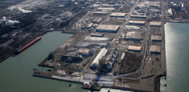 U.S. Steel's Midwest Plant in Indiana (Galina Ovtcharova & Alexei Ovtcharov/Fotki)
