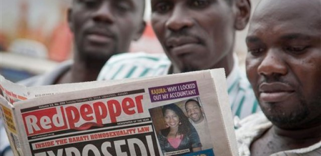 Uganda's Red Pepper magazine published a list of the country's 200 most prominent homosexuals as the country's infamous anti-gay law gains approval.