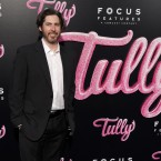 """Director Jason Reitman arrives at the Los Angeles premiere of """"Tully"""" at Regal Cinemas L.A. Live on Wednesday, April 18, 2018."""